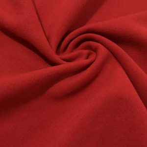 Kırmızı Mantoluk Kaşe Kumaş aa