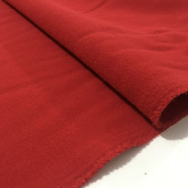Kırmızı Mantoluk Kaşe Kumaş