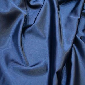 likralı saten ipek Parlement Mavisi