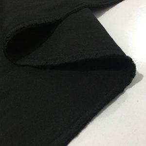 Siyah Kaşe Kumaş