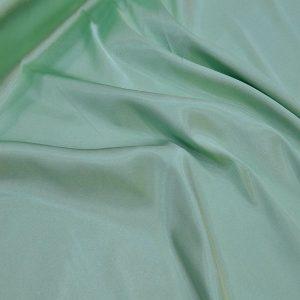 likralı saten ipek su yeşili