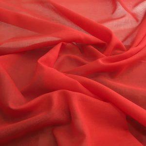 düz pamuklu tülbent nar rengi