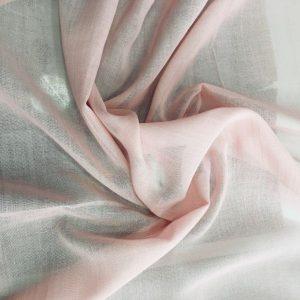 düz pamuklu tülbent pudra