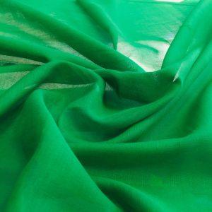 düz pamuklu tülbent yeşil