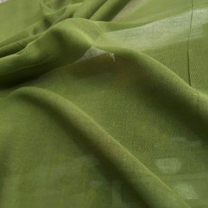 düz pamuklu tülbent yeşil 2