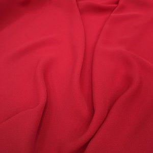 kırmızı Zara krep şifon