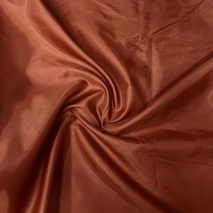 kızıl kahve polyester astar