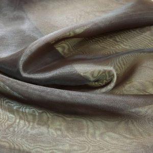 kahverengi organze tül