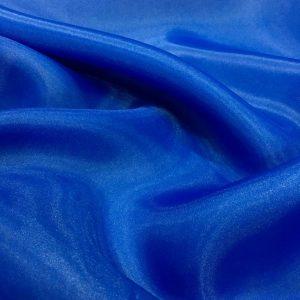 mavi organze tül