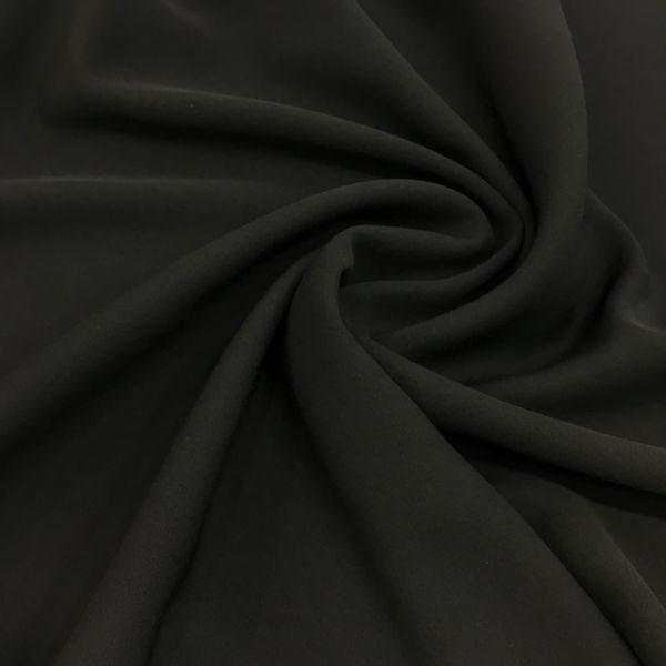 İtalyan Milano Crepe Koyu Siyah