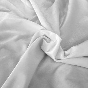 Koton Kadife Döşemelik Beyaz