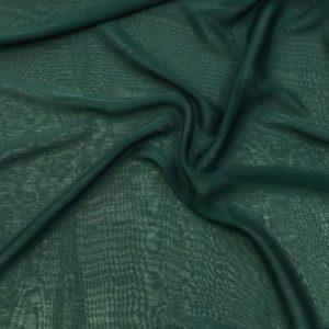 Janjanlı Şifon Zümrüt Yeşili