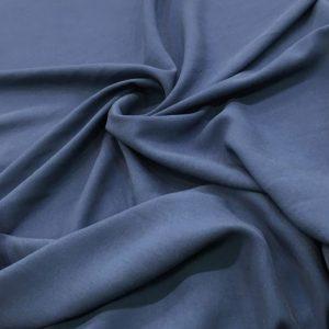 Taşlanmış Koton İndigo Mavisi