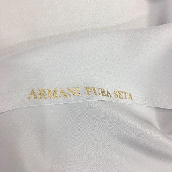 Armani Saf İpek Gri