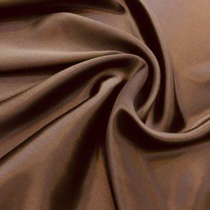 Armani Saf İpek Kahverengi