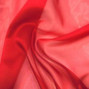 Gazar Organze Kırmızı
