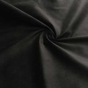 Fitilli Koton Kadife Siyah