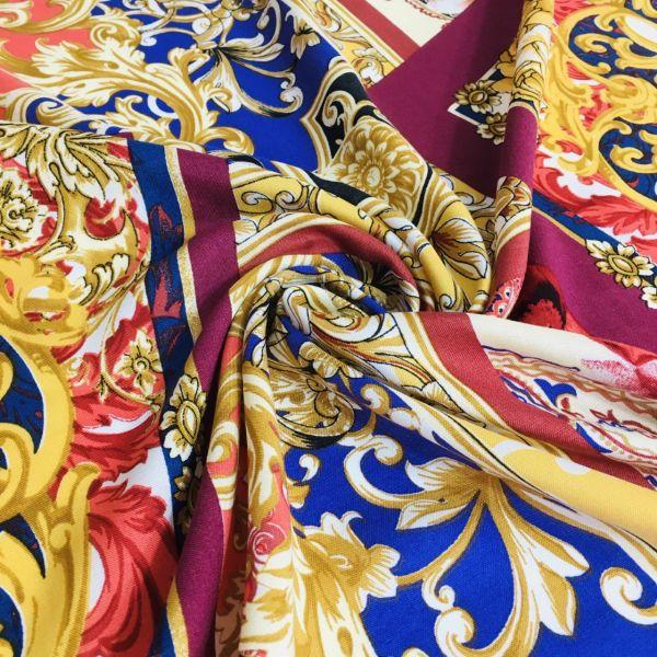 Versace Desen İpek Viskon 1