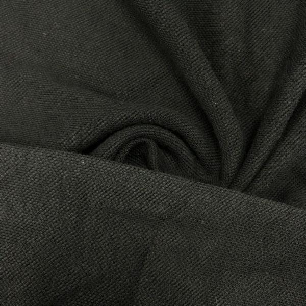 Lacoste Dokulu Penye Kumaş Siyah KRZ.