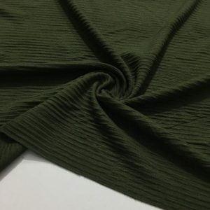 Mevsimlik Fitilli Triko Kumaş Zümrüt Yeşili
