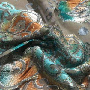 Hint Kumaşı Şifon Mavi EF