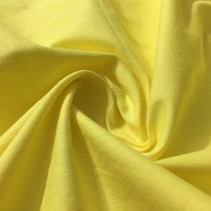 Poplin Kumaş Açık Sarı