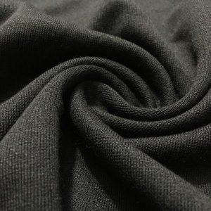 Siyah Çelik Penye Kumaş