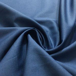 Poplin Kumaş İndigo Mavisi