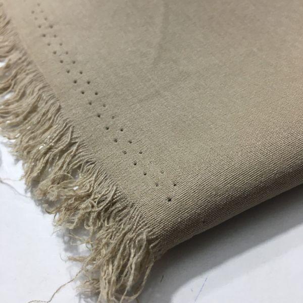 Taşlanmış Koton Kumaş Vizon