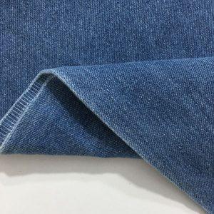 Açık Kot Mavisi Taşlanmış Kot Kumaş