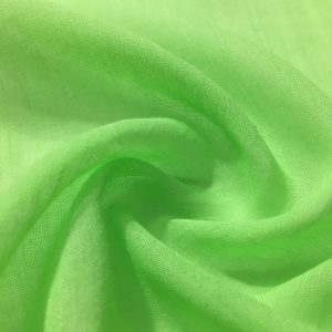 Neon Yeşil Tülbent Kumaş