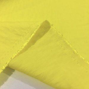 Civciv Sarısı Krinkıl Keten Kumaş