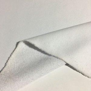 Üç İplik Penye Kumaş Beyaz