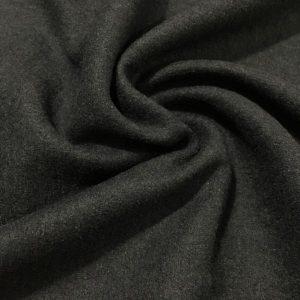 Süper Saf Yün Keçe Kumaş Siyah