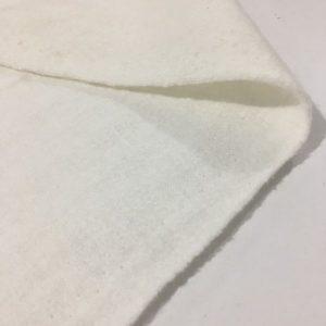 Yünlü Kırık Beyaz Keçe Kumaş